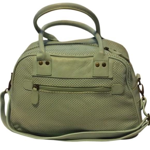latico Handbags - Latico Vintage Leather Travel Bowler Bag